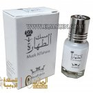 4 Pcs Pure Musk ALTAHRA Saudi Arabian Musk Alcohol Free مسك أبيــض درجة أولى