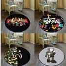 Street Fashion BAPE KAWS Cool Floor Rug Carpet Room Doormat Non-slip Chair Mat