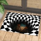 3D Stereo Vision Carpet iIllusion Doormat  Carpets for Living Room Area Rugs Home Bedroom Floor Mat