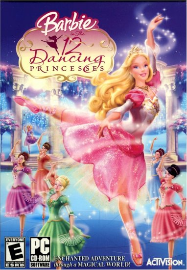 Barbie in the 12 Dancing Princess PC Game