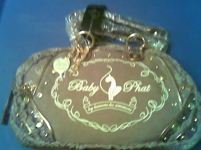 AUTHENTIC BABY PHAT ROYAL PALACE SATCHEL HANDBAG