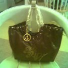 AUTHENTIC BABY PHAT BROWN TOTE HANDBAG