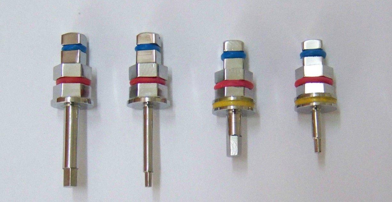 1x Dental Hex Driver Adapter for Implant Ratchet Long Short 1.25 2.42 - 4.0 6.35