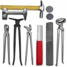 Professional Farriers Tools Horse Hoof Nipper Trimmer Cutter Tool Kits Veterinary Instruments