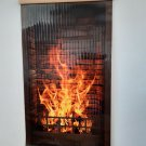 Infrared ECONOMY Heating Panel Fireplace Flexible Wall-Hung Electric Heater 430W