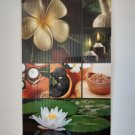 ECONOMY Infrared Heater picture wall heating panel FLEXIBLE 430Wt LOTUS