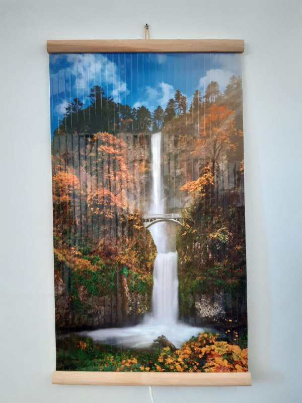 Infrared heating panel flexible wall electric heater Waterfall