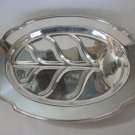 "BEAUTIFUL VINTAGE L.B.S. CO 1472 EPNS SILVER PLATED MEAT TRAY PLATTER ""C.E.L"""
