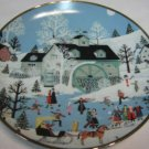 1992 Moonlight Gathering BY Wooster Scott Limited Edition Collectors Plate