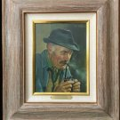 "Waldemar Dorfler Original Oil Painting on Panel Portrait ""Bavarian Hunter"""