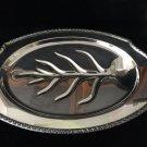 "International Silver Co. Wickford Meat Platter, 19"" x 13"" x 1 3/4"" H, 3.9 Lbs"