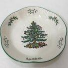 "Spode Christmas Tree Tunis Dessert Dish Bowl, 8 1/2"" Diameter x 1 1/2"" High"