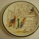 """Vernon Kilns French Reproduction """"Le Barbier De Seville"""" Plate - Has a Chip"""