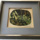 "Joan Binkoff ""Tsunami"" Limited Edition Etching Print, Signed & Numbered, Framed"
