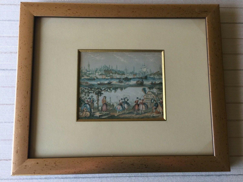 "Constantinople Needle Box Print by Bradshaw & Blacklock, Framed, 5"" x 4"" (Image)"