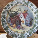 Ivy Lane By Barbara Mock Welcome To the Neighborhood Limited Edition Plate (New)
