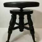 """Antique Chas Parker Victorian Ball Claw Piano Stool, 16 1/2"""" - 17 1/2"""" High"""