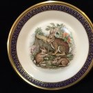"""Lenox Presents """"Cottontail Rabbits"""" Collector Plate by Boehm w/Original Box"""