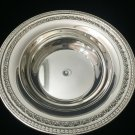 """Vintage Reed & Barton Silverplate 1203 Serving Bowl, 9 3/4"""" Dia x 2 1/4"""" High"""