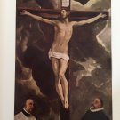 El Greco (1541-1614) Color Print Plate Eleven, Christ on the Cross