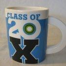 "Class Of 20 X Oval Shape Hallmark Mug, 4 3/4"" Tall X 3 1/2"" X 2 3/4"" (Rare)"