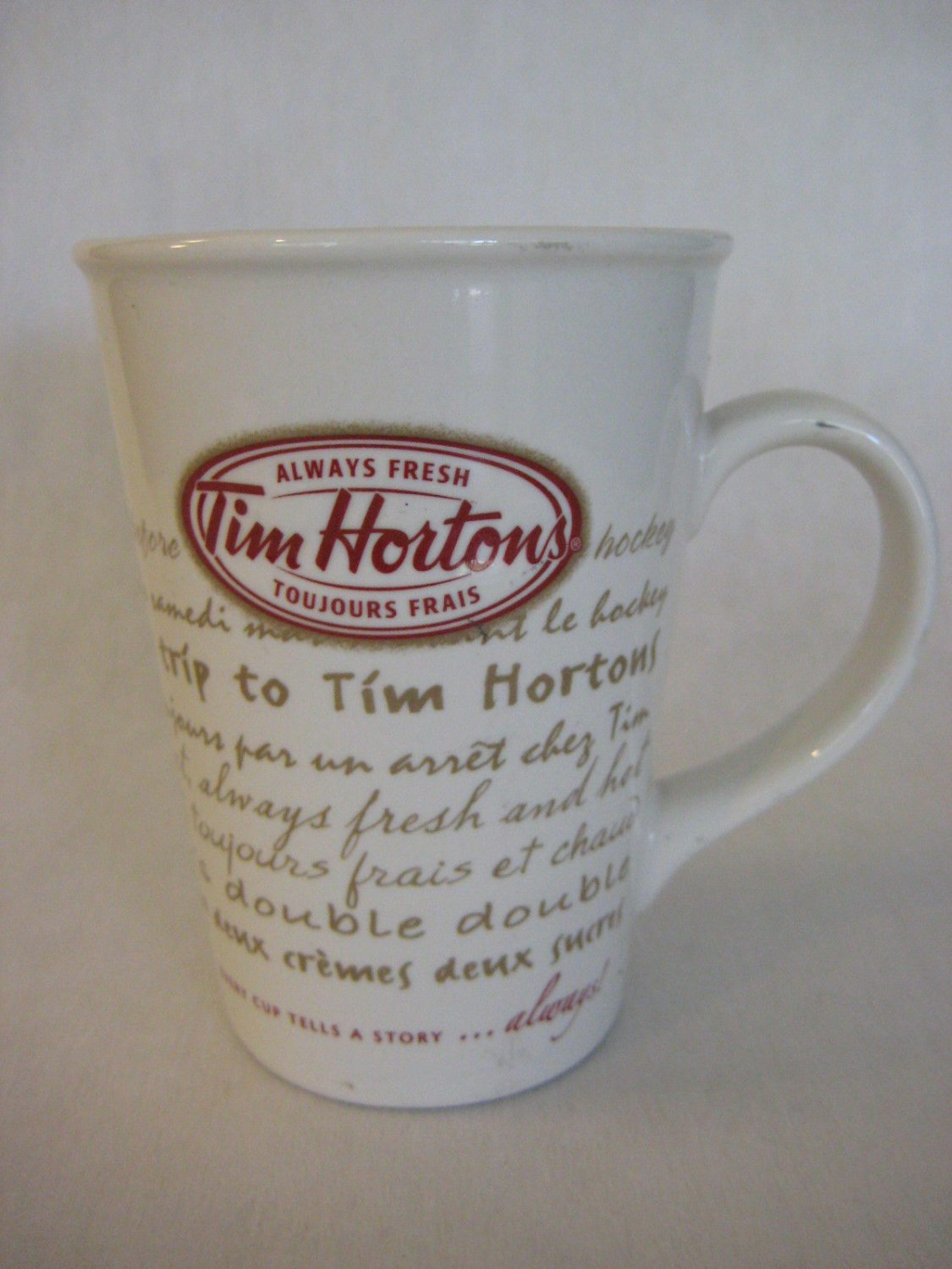 2009 Tim Horton's Always Fresh Road Trip #9 Limited Edition Coffee Mug