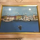 "Captain Hugh Mulzac Original Gouache Painting, Signed, Framed, 23"" x 17 1/2"""