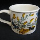1972 Portmeirion Botanic Garden Cytisus Scoparious Broom England Coffee Mug