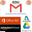 Edu academy Email (Amazon Prime 6 month Unlimited Google Drive