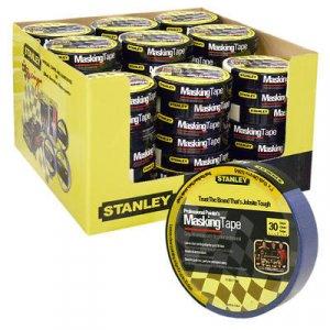 "Stanley Blue Painters Masking Tape 1"" x 15 yds paint"
