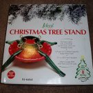 "Christmas Tree Stand Steel Adjustable 7' x 4.5"" trunk"