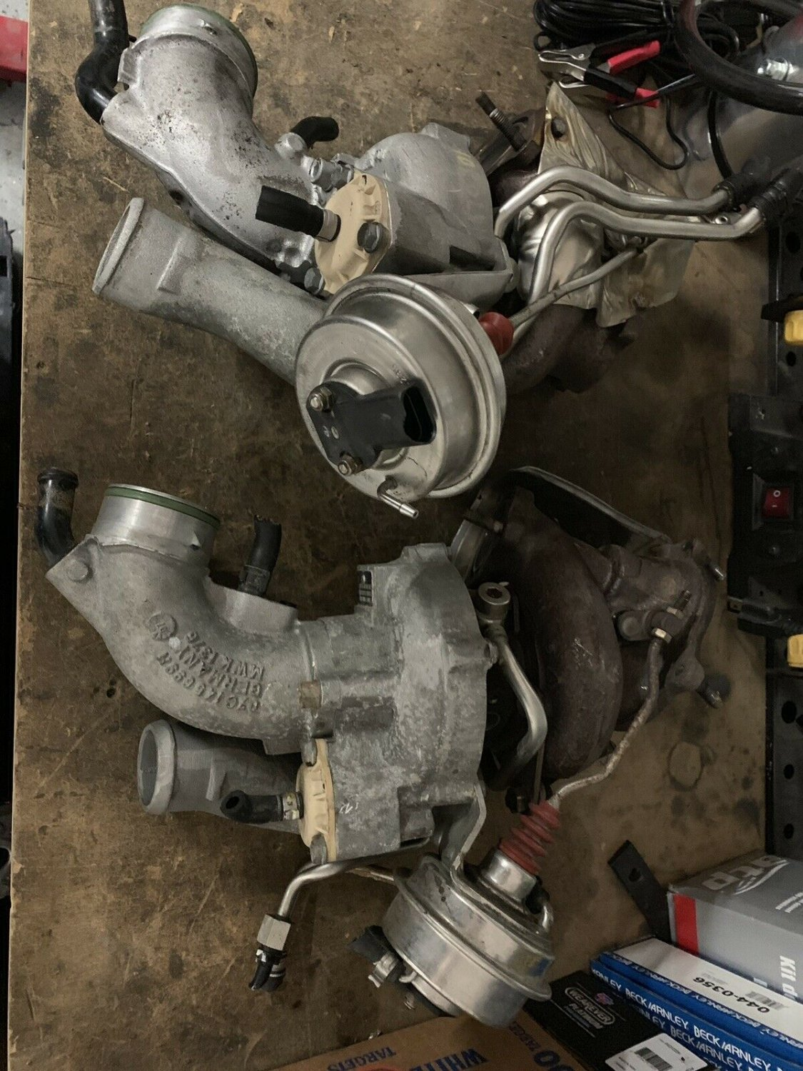 07-11 Bentley Continental GT GTC Right And Left Turbochargers Turbos Supersports