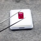 4.85ct natural ruby shape emerald certified loose gemstone