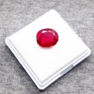 10.95ct natural ruby shape oval certified loose gemstone
