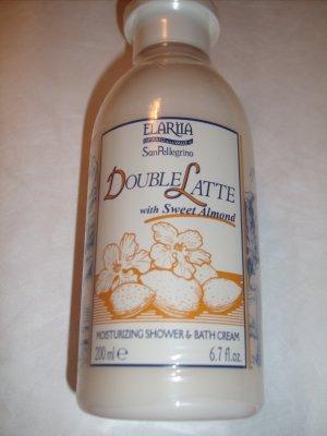 Elariia Double Latte with Sweet Almond Shower Cream 6.7oz