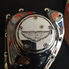"26159-4162-317CHR Harley Davidson Twincam Swarovski Point Cover Chrome  ""Ladies Of Harley"""