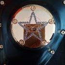 "26159-2162-317GLD Harley Davidson Twincam Swarovski Point Cover Gold-Plated 14k  ""WILLIE-STAR """
