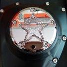 "26159-2162-317CHR Harley Davidson Twincam Swarovski Point Cover chrome ""WILLIE-STAR """