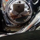 "26159-4182-317CHR Harley Davidson Point Cover Chrome ""Willie's Eyes"""