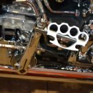 11935-165-4112-WHT Harley Davidson Kicker Pedal Knuckleduster