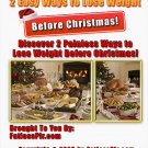 2 Easy Ways to Help You Lose Weight Before Christmas (with PLR + Free Shipping)