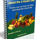 6 Absolute Truths about the 5 Factor Diet (with MRR + Free Shipping)