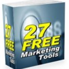 27 Free Marketing Tools (with MRR + Instant Delivery)