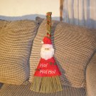 Christmas Broom Santa