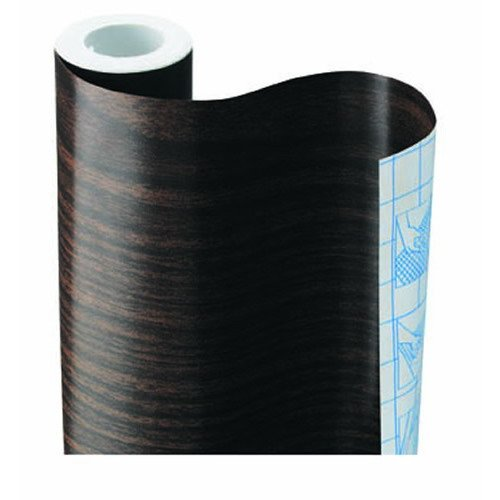 WALNUT WOOD CONTACT PAPER DRAWER SHELF LINER 9 FT