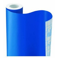 ROYAL BLUE SOLID CONTACT PAPER DRAWER SHELF LINER