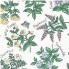 Herbs Floral contact paper 705