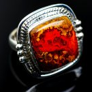 Moroccan Agate 925 Sterling Silver Ring Size 6.25 Ana Co Jewelry