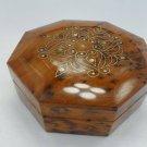 Octago-Box Handmade In Morocco, Cedar Wood Box For Jewelry, Essaouira
