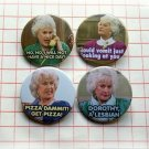 Bea Arthur Golden Girls ~ CHOOSE 1 ~ - 1.5 inch pinback button, clip or magnet